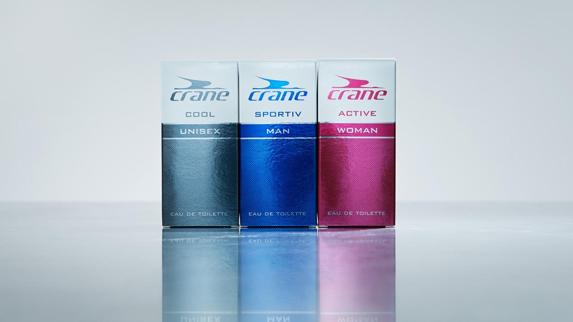 Düfte von Aldi Süd: Crane Unisex, Crane Herren und Crane Damen